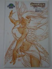 Soulfire Dying of the Light #3B Wizard World Texas Turner Sketch Variant DOTL